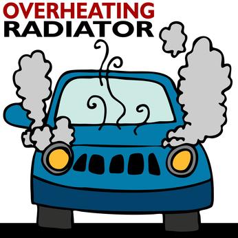 Лопнувший в дороге патрубок радиатора