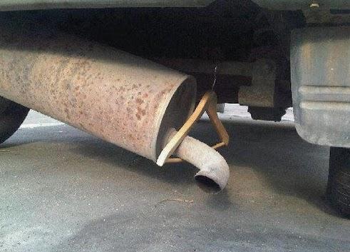 mount muffler car Крепление глушителя из резины