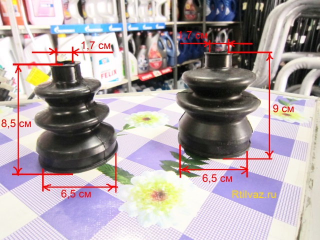 Размеры пыльника привода ford focus
