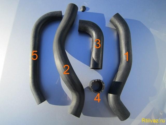 2 Radiator tubes vasesi 640x480 Узнайте патрубки радиатора от ваз 2108 до ваз 2115