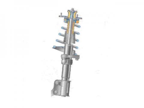 front suspension assembly 480x360 ЗАМЕНА ПЕРЕДНИХ СТОЕК ЛАДА КАЛИНА СВОИМИ РУКАМИ
