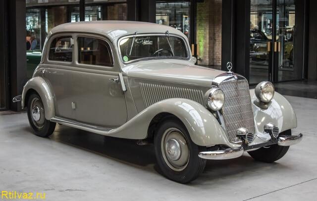 Mercedes-Benz после покраски