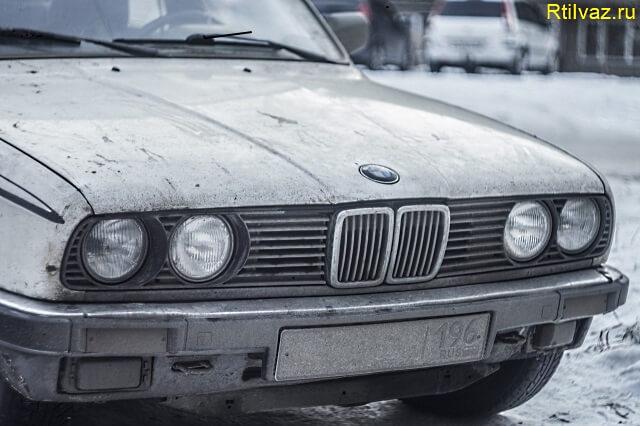 repair the hood of the car Готовим к покраске капот автомобиля